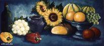 Stillleben, Obst gemüse, Malerei