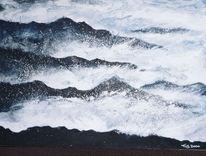 Malerei, Abstrakt, Riff
