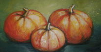 Stillleben, Früchte, Herbst, Malerei