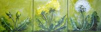 Natur, Blüte, Malerei, Pflanzen