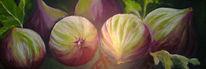 Flora, Stillleben, Feige, Malerei
