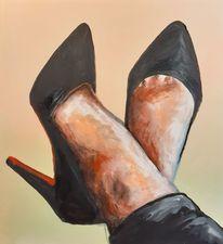 Schuhe, Highheels, Reiz, Fuß