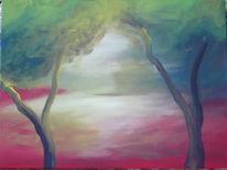 Landschaft, Malerei, Traum