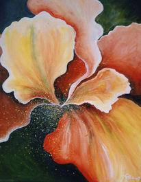 Abstrakt, Malerei, Blumen, Blüte