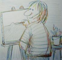 Skizze, Grafik, Strich