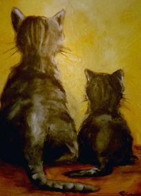 Figural, Tiere, Lebewesen, Malerei
