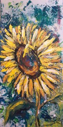 Garten, Sonnenblumen, Natur, Sommer