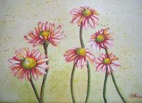 Pflanzen, Blumen, Blüte, Malerei