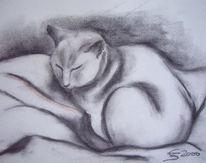 Tiere, Malerei, Figural, Portrait