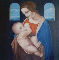 Malerei, Madonna,