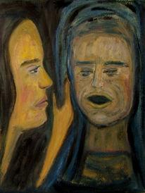 Malerei, Abstrakt, Leid