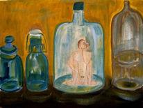 Ringfort, Malerei, Surreal, Mann