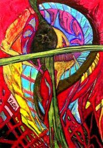Bekommen, Palmen, Abstrakt, Wunde