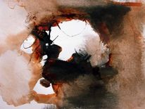 Abstrakt, Malerei, Acrylmalerei, Indisch