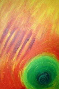 Abstrakt, Malerei, Erleuchtung