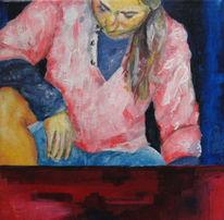 Pose, Serie, Malerei