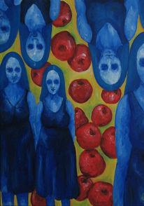 Acrylmalerei, Malerei, Paradies,