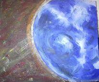 Blau, Erde, Malerei, Kreislauf