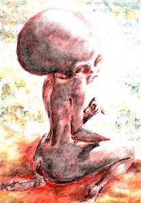 Figural, Malerei, Alptraum