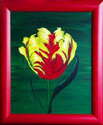 Malerei, Farben, Rot, Firnis