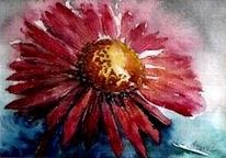 Aquarellmalerei, Blumen, Malerei, Aquarell