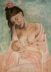 Malerei, Pastellmalerei, Aquarell, Picasso