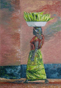 Côte, Figural, Malerei, Mais