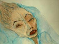 Alt, Figural, Nachdenklich, Müde