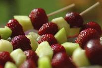 Erdbeeren, Stillleben, Melone, Fotografie