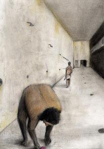 Gewalt, Gefängnis, Malerei, Seife