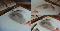 Perspektive zeichnen, 3d, Maus, Zeichnungen