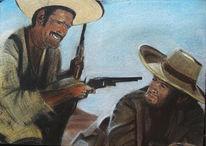 Wüste, Figural, Waffe, Clint