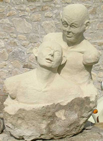 Skulptur, Stein, Skulpturen stein