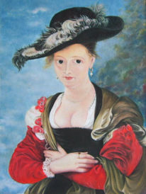 Rubens, Frau, Figural, Malerei