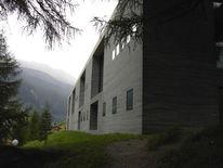 Naturstein, Berge, Wasser, Architektur