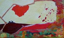 Trauer, Abstrakt, Zerstörung, Atomkraft
