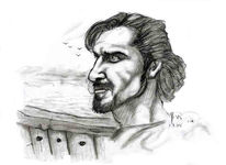 Sehnsucht, Zeichnung, Portrait, Zeichnungen