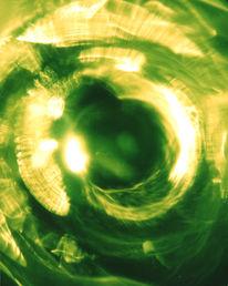 Wirbel, Abstrakt, Spirale, Grün