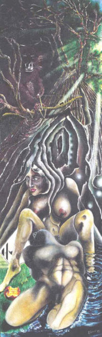 Malerei, Sehnsucht, Surreal