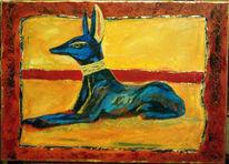 Malerei, Figural, Götter, Ägypten