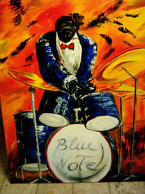 Musik, Rhythmus, Schlagzeug, Malerei