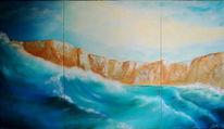 Wolken, Meer, Malerei, Landschaft