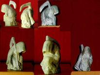 Tod, Kunsthandwerk, Speckstein, Stein