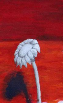 Figural, Blumen, Vergänglichkeit, Malerei