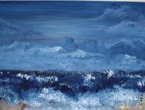 Abstrakt, Malerei, Mer
