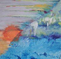 Malerei, Surreal, Mer