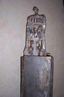 Metall, Kunsthandwerk, Holz, Skulptur