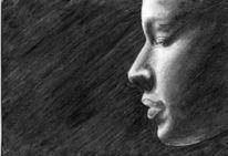 Licht, Zeichnung, Portrait, Zeichnungen
