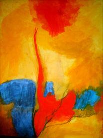 Abstrakt, Malerei, Pflanzen, Chi