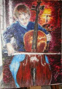 Zeichnung, Kreide, Ölmalerei, Pastellmalerei